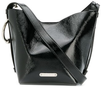 Rebecca Minkoff patent mini Kate bucket bag