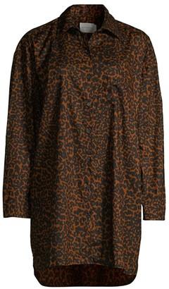 Maison du Soir Heidi Cheetah Print Sleepshirt
