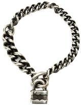 Werkstatt:Munchen padlock chain bracelet