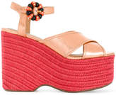 Marc Jacobs Rowan espadrille wedge sandals