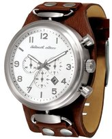Black Dice Rookie Men's Watch with Brown Band