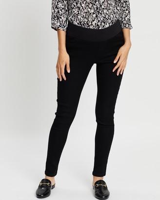 Dp Maternity Premium Eden Lightweight Ankle Grazer Jeans
