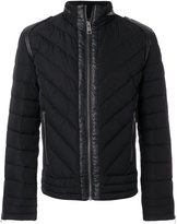 Just Cavalli padded zip jacket