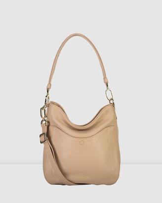 Saben Rebe Leather Shoulder Cross-body Bag