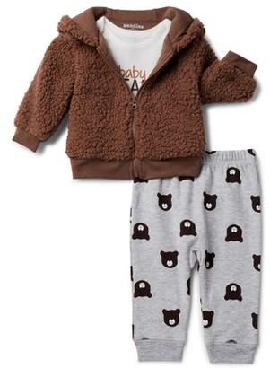 The Children's Place The Children?s Place Baby Boys? Baby Bear Jacket and Pants, 3-Piece Set