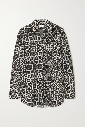 Dries Van Noten Leopard-print Cotton-poplin Shirt - Leopard print