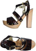 G.J.L. Platform sandals