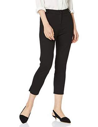 Mexx Women's 70455 Trousers, (Jet Black 190303), 38W x 32L