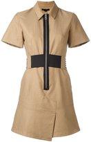 Alexander Wang safari dress - women - Cotton/Polyester - 6