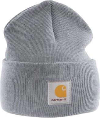 Carhartt Acrylic Watch Cap - Grey CHA18HGY Mens Winter Beanie Ski Hat Workwear CHA18HGY-Universal