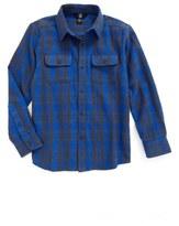 Volcom 'Copeland' Woven Long Sleeve Shirt (Big Boys)