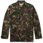 J.Crew Camouflage-Print Cotton-Blend Field Jacket