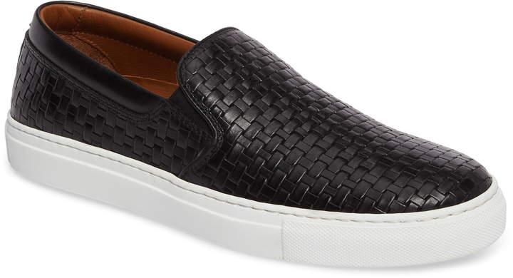 Aquatalia Ashlynn Embossed Slip-On Sneaker