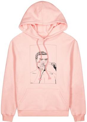 424 Face Off Comics Pink Cotton Sweatshirt