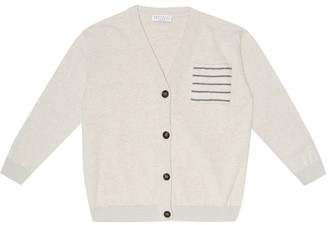 BRUNELLO CUCINELLI KIDS Exclusive to Mytheresa Cotton cardigan