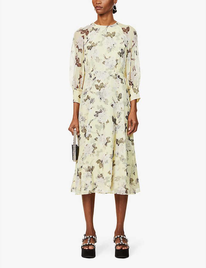 Erdem Yusra floral-print silk-crepe maxi dress
