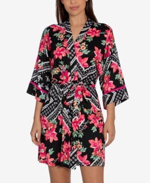 Linea Donatella Marabel Patch Wrap Robe
