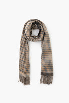 Hunter Look By M Two Tone Classic Checker Scarf