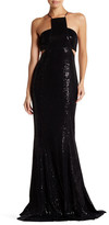 Jay Godfrey Accra Sequin Cutout Gown