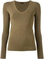 Joseph plain jumper - women - Silk/Nylon/Spandex/Elastane - L