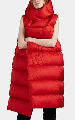 Rick Owens Women's Liner Down-Quilted Sleeveless Puffer Jacket - Red