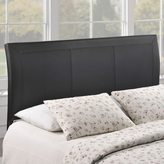 Modway Isabella Contemporary Faux Leather Queen-size Headboard