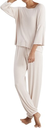 The White Company Ribbed Pajamas