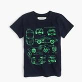 J.Crew Boys' glow-in-the-dark car blueprint T-shirt