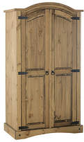 Collection Puerto Rico 2 Door Wardrobe Dark Pine