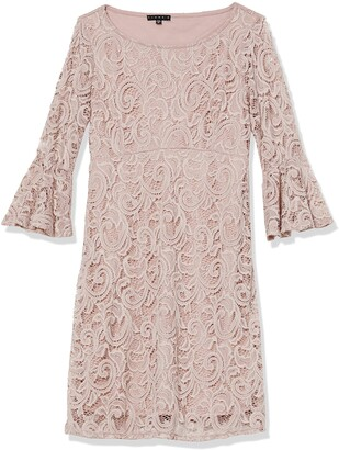 Tiana B T I A N A B. Women's Petite Bell Sleeve lace Dress
