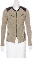 IRO Wool Leather Jacket