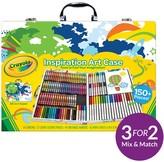 Crayola Inspiartional Art Case