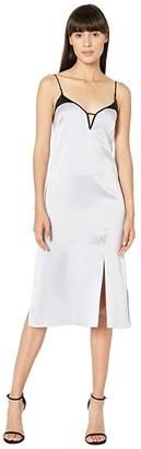 Kiki de Montparnasse Harness Slip Dress (Powder Blue) Women's Dress