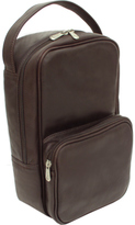 Piel Leather Carry All Vertical Shoe Bag 9743
