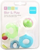 Mam Bite and Play Teether - 1 Ring by