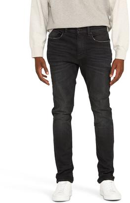 Hudson Men's Zack Raw-Edge Skinny Jeans