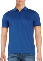HUGO BOSS Philix Quarter-Zip Polo Shirt