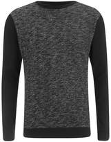 Brave Soul Men's Stone Zip Sweatshirt - Black