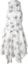 C/Meo dot print plunge dress - women - Polyester/Viscose - XS