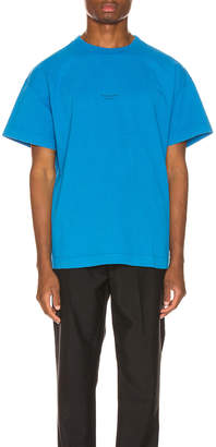 Acne Studios Jaxon Tee in Electric Blue | FWRD