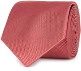 Paul Smith Dark Rose Silk Twill Tie