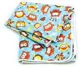 Hippy Chick Hippychick Bumkins Splat Mat - Blue Owls - Pack of 4