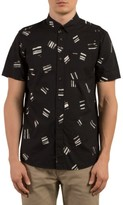 Volcom Men's Micro Warp Print Shirt