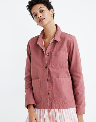 Madewell Garment-Dyed Ashwood Chore Coat