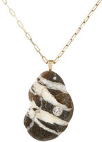 Cvc Stones Women's Bali Pendant Necklace-BLACK