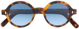 L.G.R Reunion Bold round-frame sunglasses