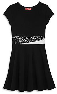 Aqua Girls' Fit & Flare Dress, Big Kid - 100% Exclusive