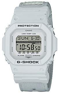 G-Shock Men's Shock and Water-Resistant Cloth Strap Watch
