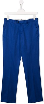 Isaia Kids TEEN classic chino trousers