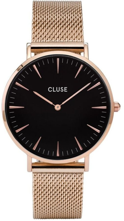 Cluse Women's La Boheme Mesh CL18113 Rose Stainless-Steel Quartz Watch